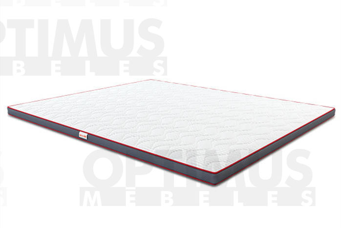 90*200 3D Fleks Matracis plānais / Virsmatracis