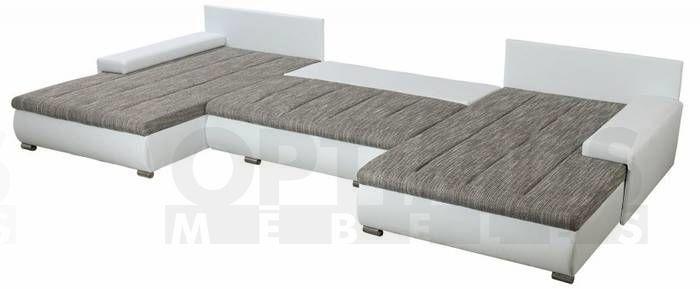 Toscania Stūra dīvāns U veida