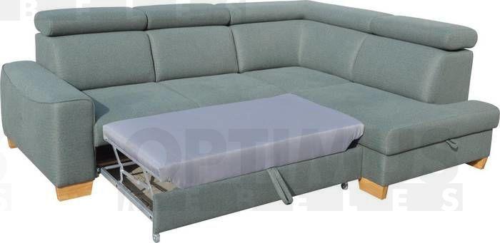 Bardo B Stūra dīvāns L veida
