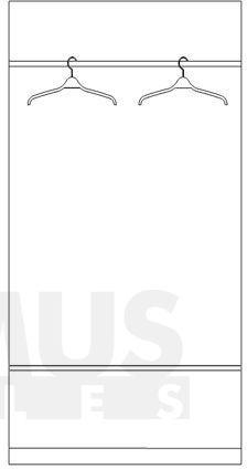 Larsa 4D Drēbju skapis