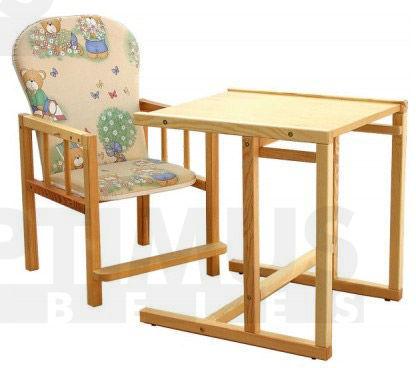 Antos Bērnu galds + krēsls