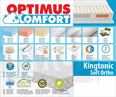 160*200 Kingtonic Soft Ortho Matracis