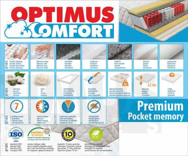 80*190 Premium Pocket Memory Matracis