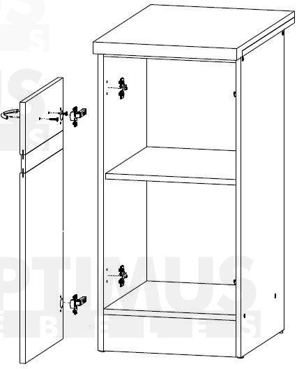 Junona D1D/50/82 L Кухонный шкаф модульной системы