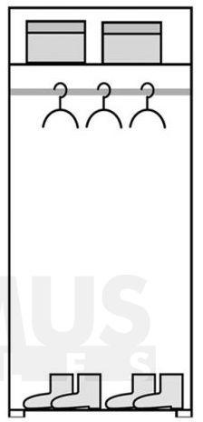 Passionata PS1 Drēbju skapis