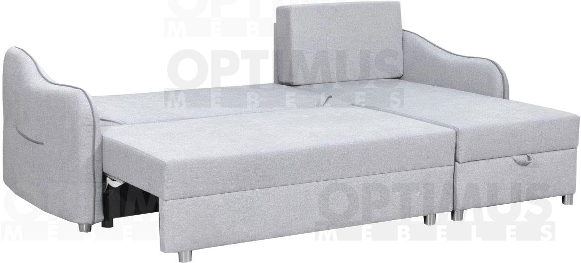 Fado G Stūra dīvāns L veida