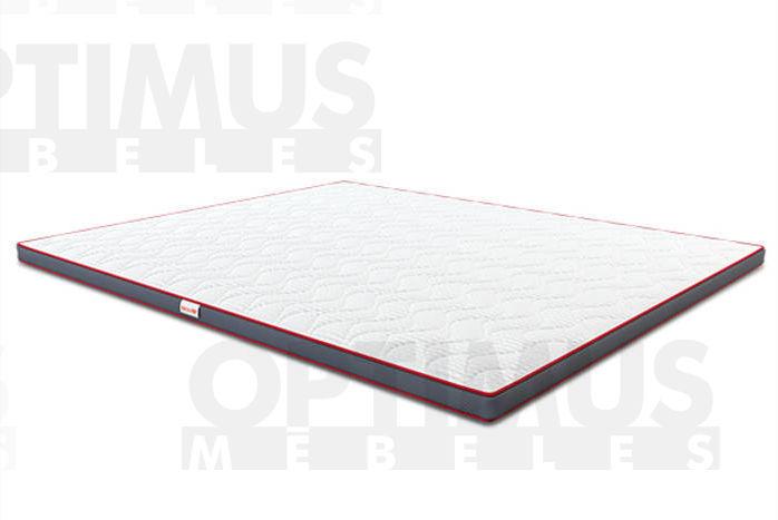 90*200 3D lateks Matracis plānais / Virsmatracis