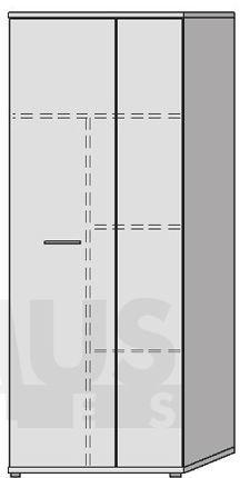 Net106 MS157 Plaukts / skapis