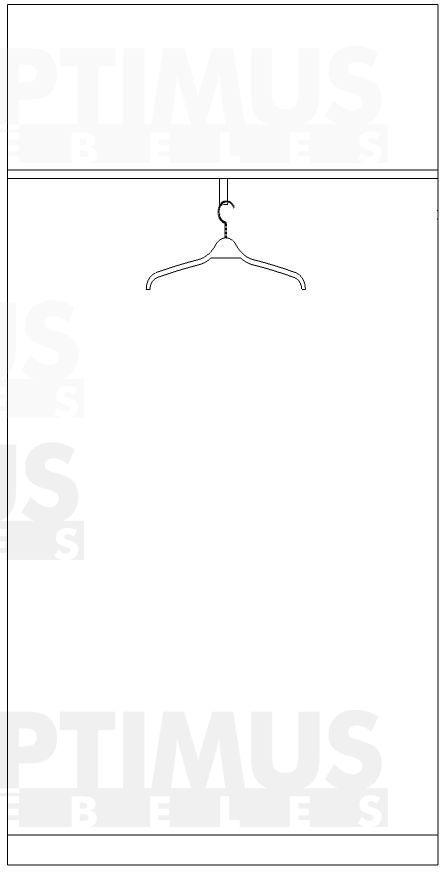 1087 Drēbju skapis