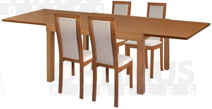 Torito 4 Ēdamistabas galds ar krēsliem