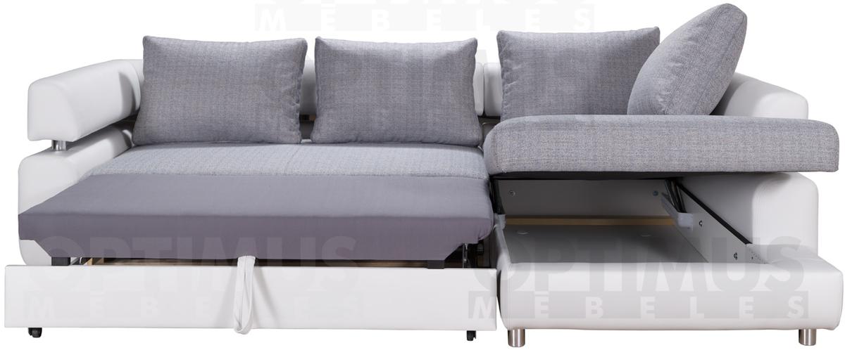 Panama B Stūra dīvāns L veida