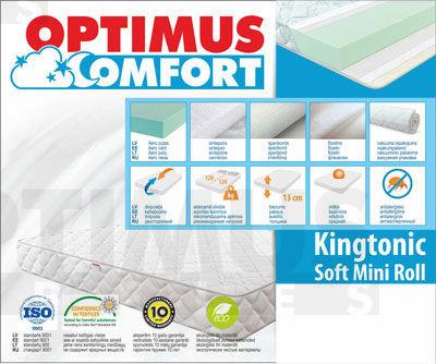 120*200 Kingtonic Soft Mini Roll Matracis