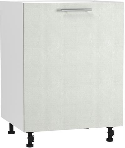 BlanKit D60.1 White+Concrete cream.353 Skapis