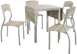 Elisa D01063RTD01002C Ēdamistabas galds ar krēsliem