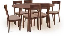 Aroma/Loreto 6 Ēdamistabas galds ar krēsliem