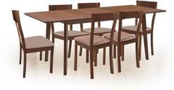 Lavender/Loreto Ēdamistabas galds ar krēsliem