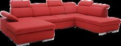 Stūra dīvāns U veida