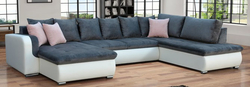 Fado MR Stūra dīvāns U veida