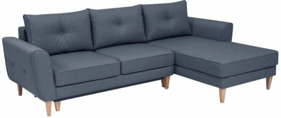 Malmo B Stūra dīvāns L veida