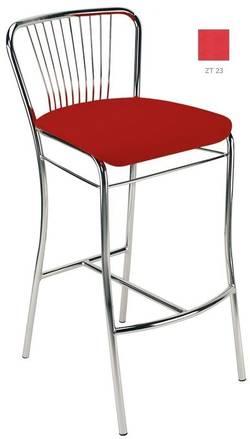 Neron hoker chrome Bāra krēsls / hocker