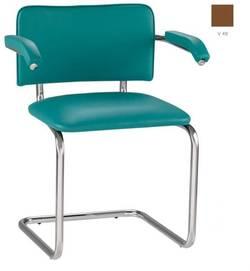 Sylwia arm chrome Biroja krēsls / piederumi