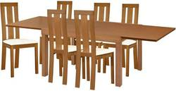 Torito/Edison Ēdamistabas galds ar krēsliem