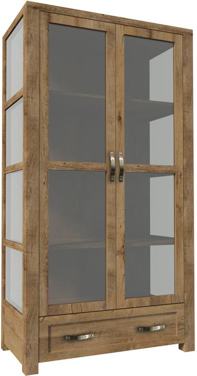 Nevada W2D Plaukts ar stiklu / vitrīna