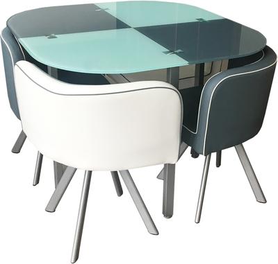 Ricciano B258-4-2/Y11-4-2 Ēdamistabas galds ar krēsliem