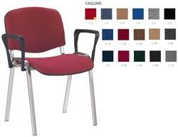Iso arm chrome Biroja krēsls / piederumi