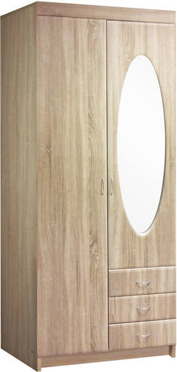 Ros 1,0 Z Шкаф для одежды с вешалкой