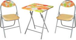 Meisa JAFL Ēdamistabas galds ar krēsliem