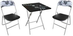Meisa FL20 Ēdamistabas galds ar krēsliem