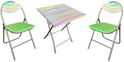 Meisa STR Ēdamistabas galds ar krēsliem
