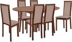 Aroma/Larino 6 Ēdamistabas galds ar krēsliem