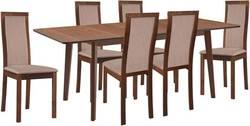 Lavender/Larino Ēdamistabas galds ar krēsliem