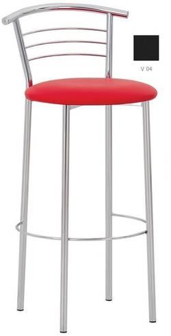 Marco hoker chrome Bāra krēsls / hocker