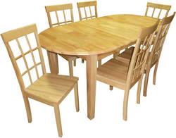 Tokio Kinsta Ēdamistabas galds ar krēsliem