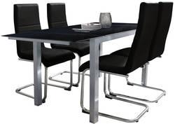 Milton 179-34-3 + Kortes 308 Ēdamistabas galds ar krēsliem