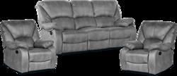 Dīvāns ar krēsliem