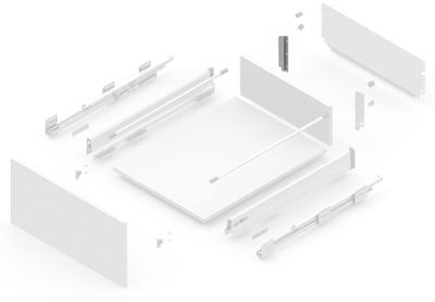 127919012 NEW SMBOX BACKBOARD HOLDER 16 MM WITHOUT GALLERY RAILING, - LEFT Atvilktņu furnitūra