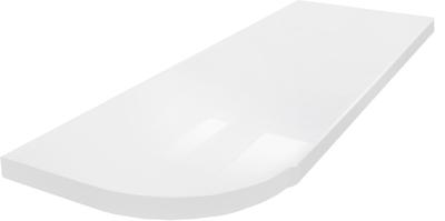 White Gloss 111 3050x600x38mm Galda virsma / Sienas panelis