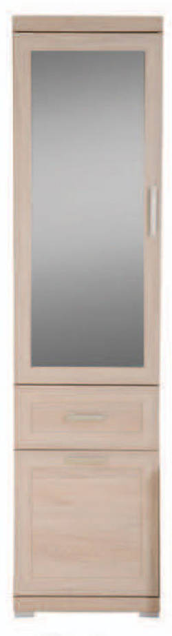 Merkuri 1107 Plaukts ar stiklu / vitrīna