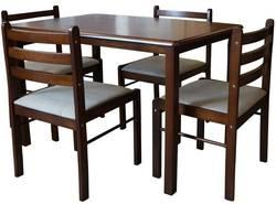 Starter PU (Iris, Emma) R Ēdamistabas galds ar krēsliem