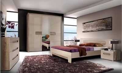 Tiziano  TZSET01 Guļamistabas iekārta