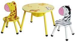 Zoo Mix SX8156 S/3 Bērnu galds + krēsls