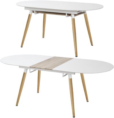 Madrid 80065ETD-160X90 WH 51014 Ēdamistabas galds