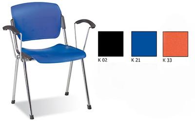 Era plast arm chrome Biroja krēsls / piederumi
