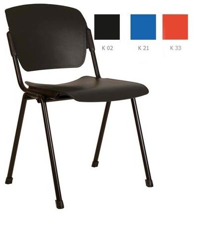 Era plast black Biroja krēsls / piederumi