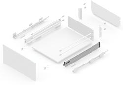 127145611 NEW SMBOX 500 MM SIDE - RIGHT Atvilktņu furnitūra