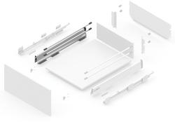 127145621 NEW SMBOX 500 MM SIDE - LEFT Atvilktņu furnitūra